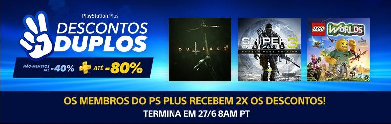 Promoções Playstation Store – 20/06