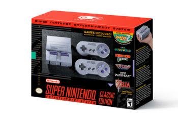 Super Nintendo será relançado em sua versão mini