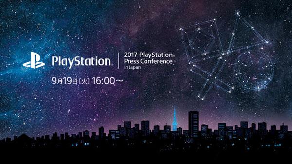 Tokyo Game Show 2017: Conferência da Sony
