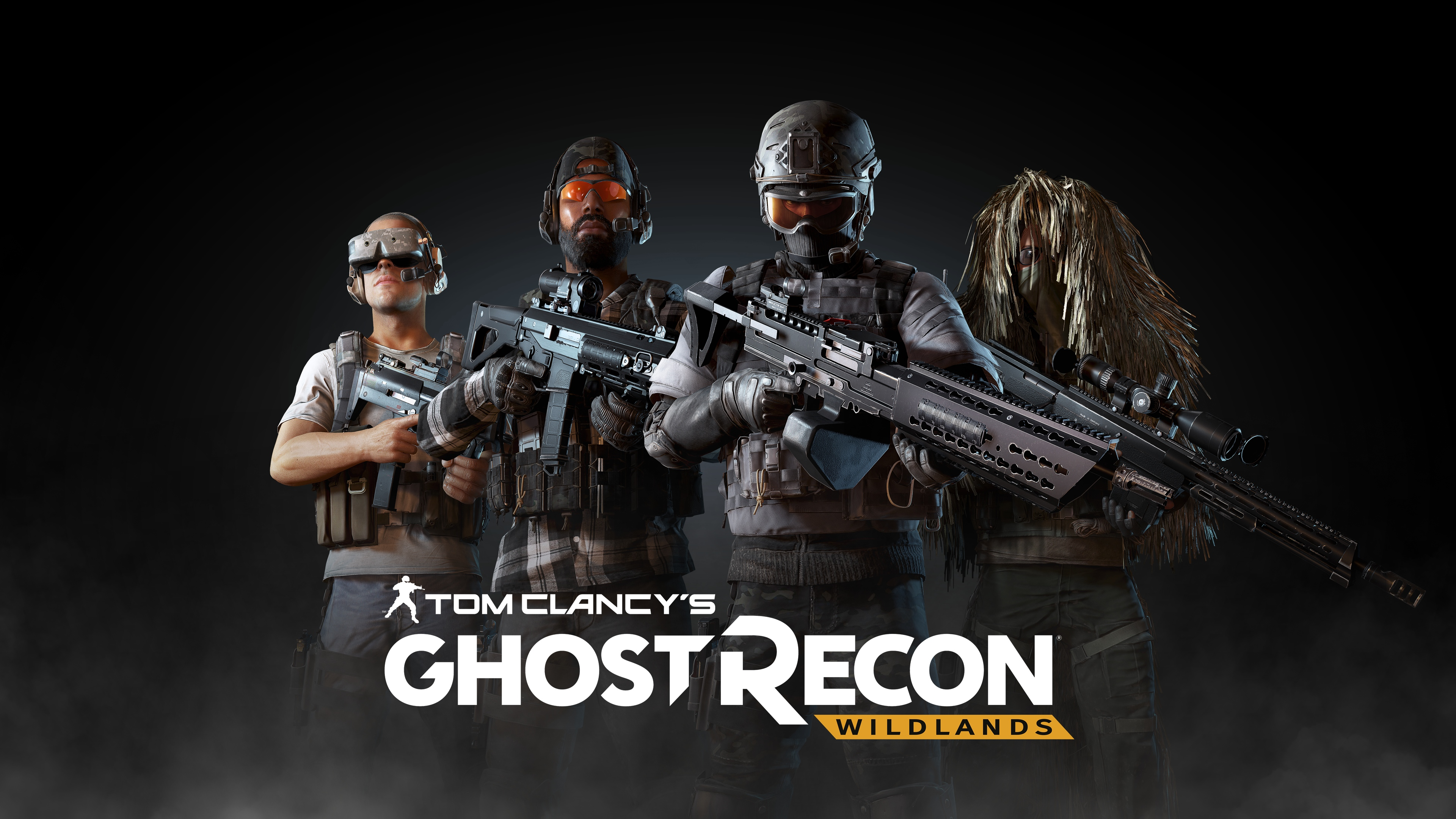 Ghost Recon Wildlands Parachuting Wallpaper 10222: Expansão Gratuita De Ghost Recon Wildlands