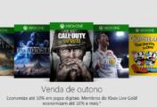 Xbox One Venda de Outono 2018