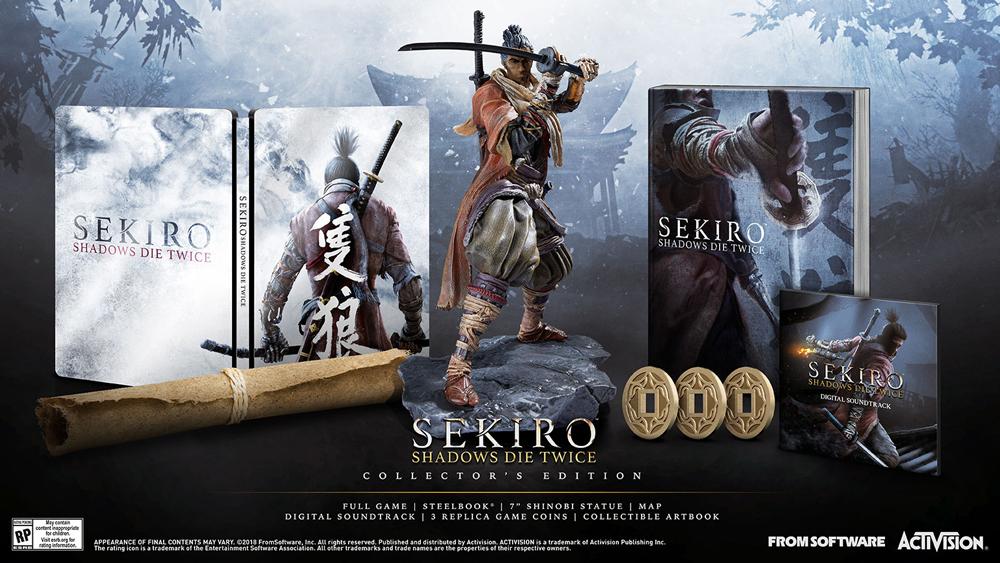 Edições especiais de Sekiro: Shadows Die Twice