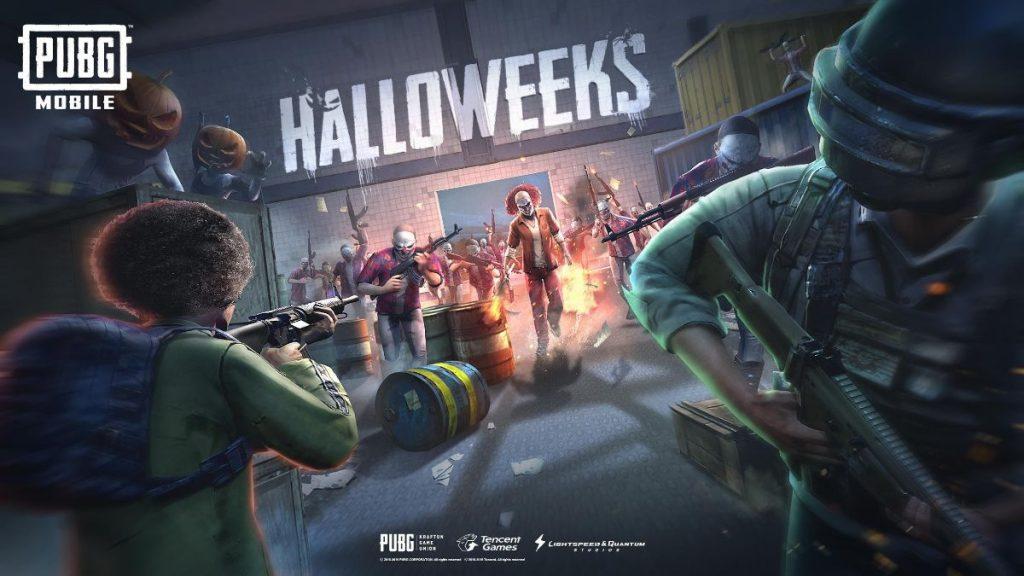 PUBG Atualizações da 5ª Temporada e Evento de Halloween
