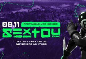 Torneio de Fortnite SEXTOU tem premiação de US$100.000