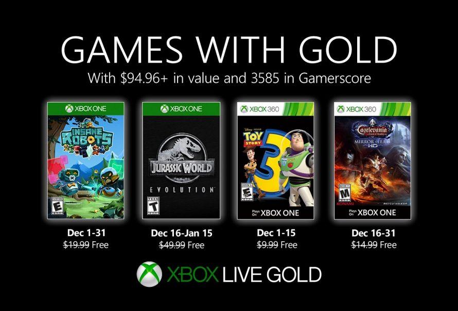 Games with Gold: Dezembro de 2019