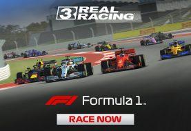 Formula 1 chega ao game Real Racing 3